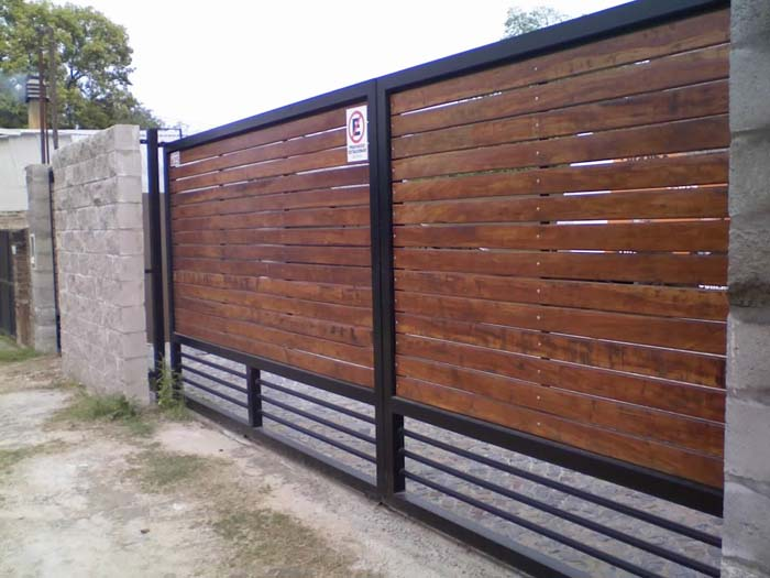 Chapa y madera www porton cluber - Rejas de madera ...